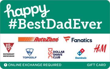 happy #bestdadever egift card