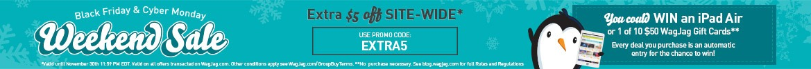 $5 Off Site-Wide + Bonus WIN