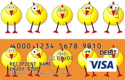 Easter chicks visa gift card negle Choice Image