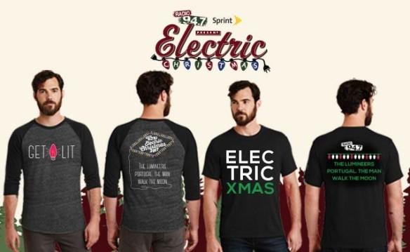 Electric Christmas_2017 shirts