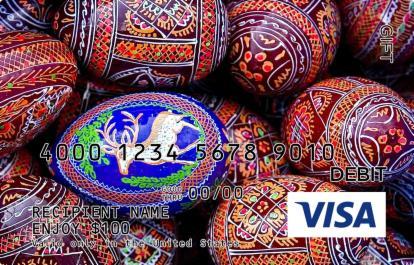 Fancy Eggs Visa Gift Card