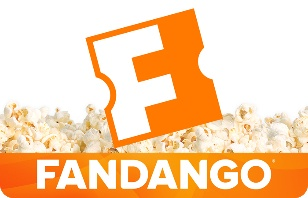 Save $10 off $50 Fandango eGift Card