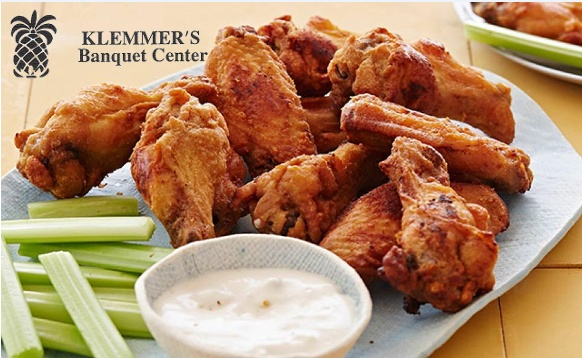 Fantastic Game Watching Food Feast for 20 from Klemmer's Banquet Center