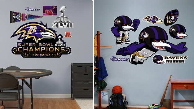 NFL Denver Broncos Demaryius Thomas Fathead Wall Decal Set