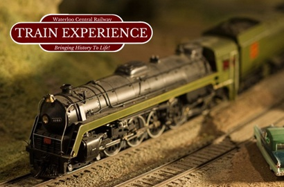 Model Train & Ride