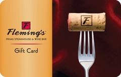 Flemings Prime Steakhouse & Wine Bar Gift Card