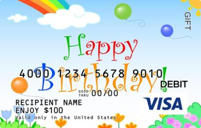 Flowers and Birthday Visa Gift Card | GiftCardMall.comHappy Gift Card Balance Check
