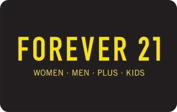 Forever 21 Inc. Stripe eGift