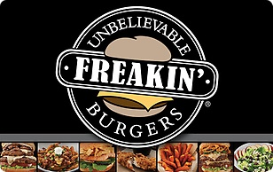 Freakin Unbelievable Burgers eGift Card