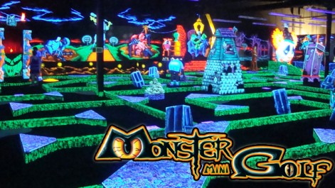 Get 20 Of Fun And Games For 10 At Monster Mini Golf