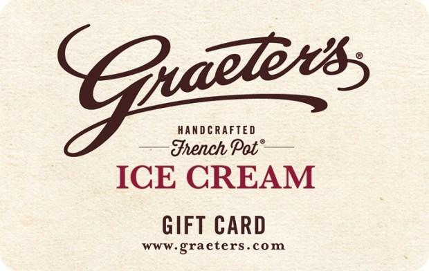 graeter's gift card