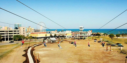 Zipline Myrtle Beach Sc The Best Beaches In World