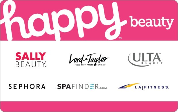 Save 15% off $50 Happy Beauty Gift Card