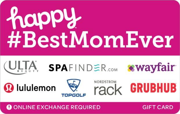 Happy #BestMomEver eGift Card Bonus Promotion