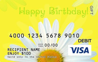 Happy Birthday Visa Gift Card – Gift Card Happy Birthday
