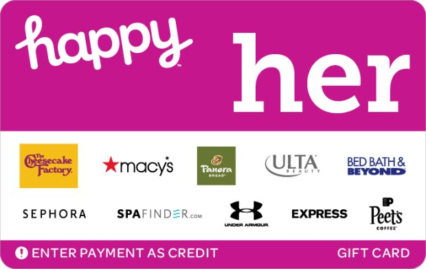 happy her gift card