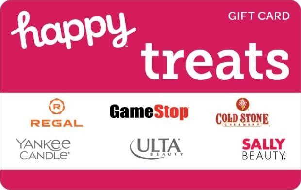 Happy Treats Gift Card Happy Card