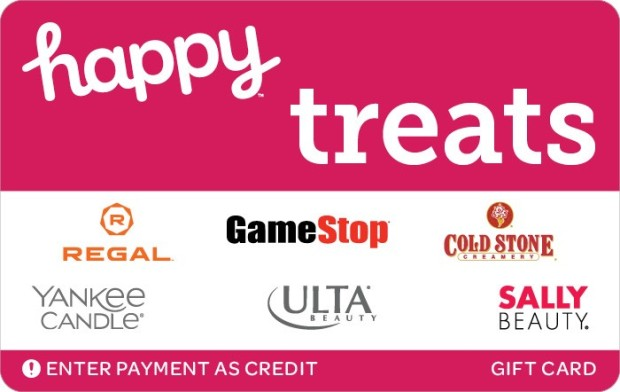 Get 15% off a $50 Happy Treats Gift Card