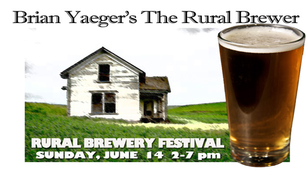 One Entry and 13 Tokens to The Rural Brewer on June 14th, 2015