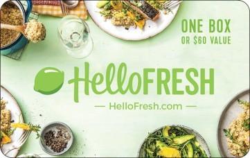 HelloFresh $60 Gift Card