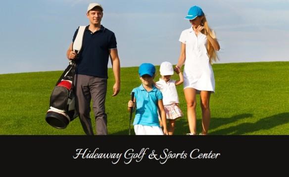 Hideaway Golf Family Fun Center Family Fun Pack