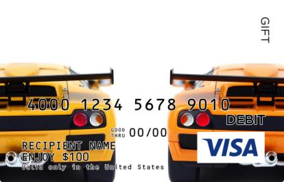Italian Cars Visa Gift Card
