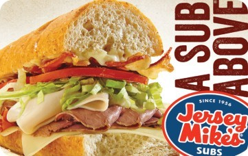 Jersey Mike's eGift
