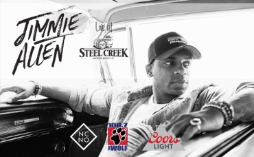 100.7 The Wolf's New Country Night Out With Jimmie Allen at Steel Creek