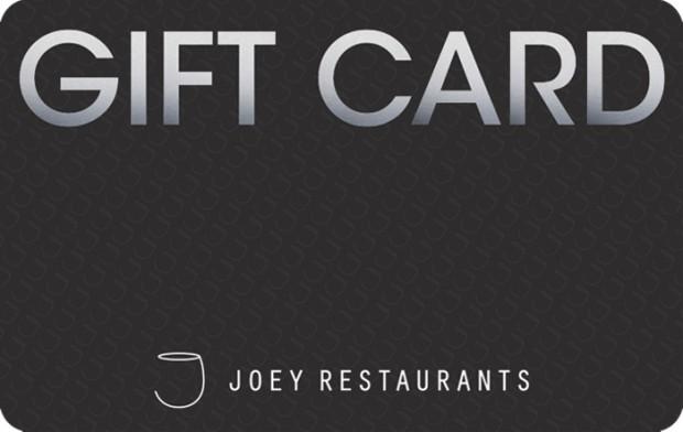 Joey Restaurants Egift Card Giftcards Ca