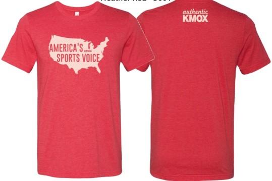 KMOX America's Sports Voice Tee