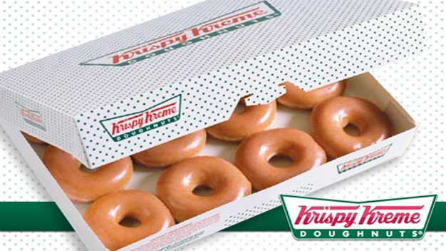 Krispy Kreme! One Dozen Doughnut Voucher