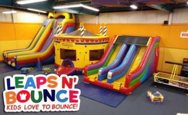 Get 2 Kids Admissions for the Price of 1 @ Leaps N Bounce!