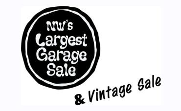 NW'S LARGEST Garage Sale & Vintage Sale Summer 2018