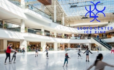 Lloyd Center Ice Rink May 2018