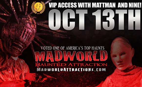 Madworld Rise Guys VIP Ticket