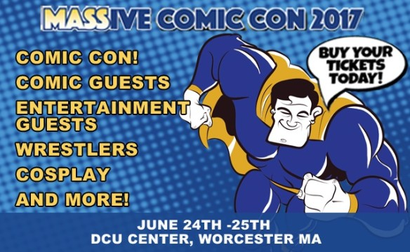 MASSive Comic Con: Weekend Pass or Pair of Tickets on Saturday June 24th