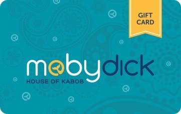 Moby Dick House of Kabob eGift