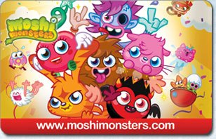 Moshi Monsters 6 Month eGift Card