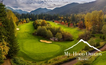 Mount Hood Oregon Resort Golfing offers