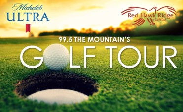 99.5 The Mountain 10th Annual Golf Tournament Tee's Off at Red Hawk Ridge Golf Course!