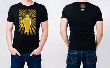 SEATTLE - KISW Rock Shop - Mens Room Gold Tee