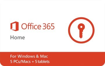 MS Office 365 Home $99.99 eGift