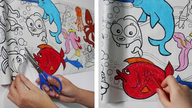 Get my perks 13 ft kids coloring roll Coloring book national bookstore