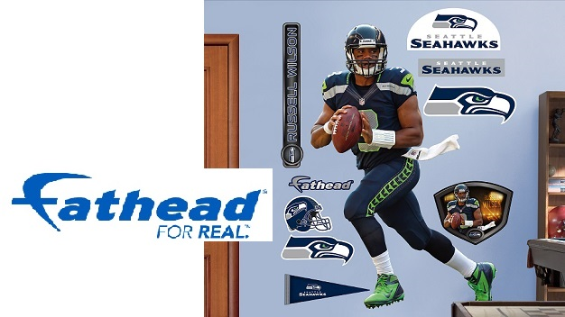 National seattle pdx fathead official nfl wall decals