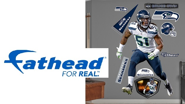 NATIONAL-SEATTLE / PDX - Fathead Official NFL Wall Decals