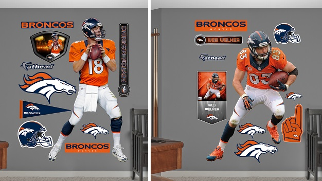 NATIONAL DENVER  Fathead Official NFL Wall Decals