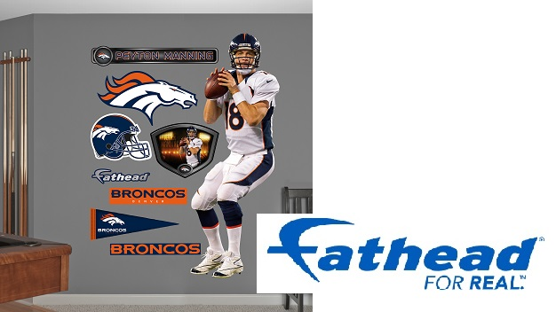 NATIONAL-DENVER- Fathead Official NFL Wall Decals