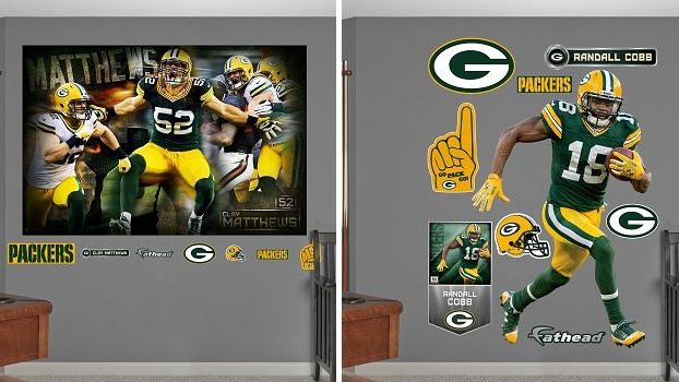 NATIONAL-MILWAUKEE / MADISON - Fathead Official NFL Wall Decals