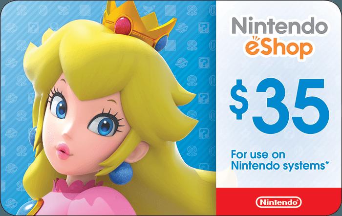 Nintendo $35 eGift