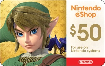 Nintendo $50 eGift